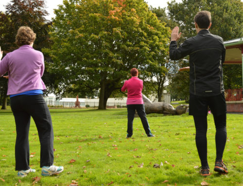 Tai Chi at Victoria Park, St Helens (2017)